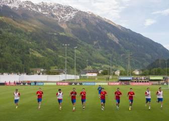 La Selección ya está en Austria