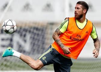 El Madrid completa su último entrenamiento antes de viajar