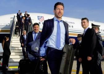 Milán se entusiasmó con la llegada del Atlético de Madrid