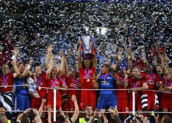 Los penaltis hacen justicia y coronan al Lyon en Champions