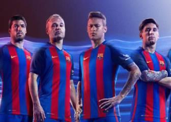 Así será la equipación del Barça para la temporada 16/17