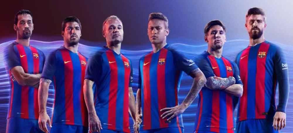 b9aca411148eb FC Barcelona  Así será la equipación del Barça para la temporada 16 ...