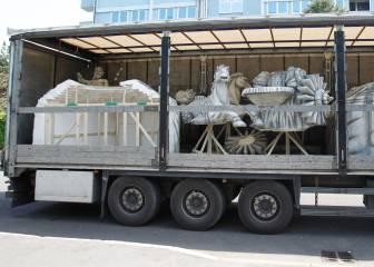 Cibeles y Neptuno viajan a Milán
