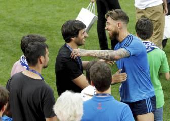 El Real Madrid se entrenó en San Siro