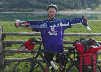 'Pedrito' es el héroe de Milán: fue desde Múnich en bicicleta