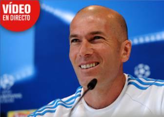 En directo, la conferencia de prensa de Zidane desde Milán