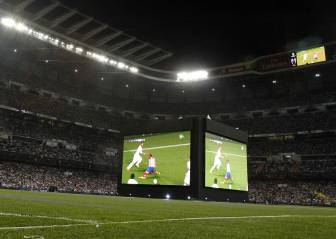El Santiago Bernabéu, lleno para verlo en pantalla gigante