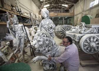 Cibeles y Neptuno ya están también presentes en Milán