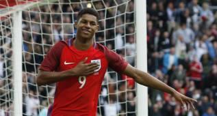 Rashford luce en su debut con Inglaterra antes de la Eurocopa