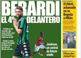 Prensa catalana: Alves se va a la Juve e interesa Berardi