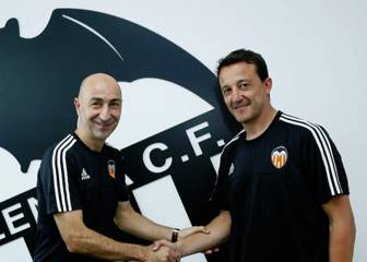 César vuelve al Valencia como técnico asistente de Ayestarán