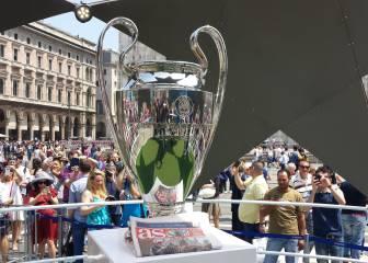Milán acogerá hoy a 45.000 hinchas españoles para la final