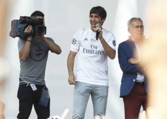 La Fan Zone del Madrid cantó