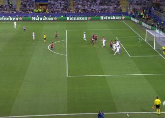Sergio Ramos estaba en fuera de juego antes de marcar el 1-0