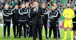 Michael O'Neill anuncia la lista de Irlanda del Norte para la Euro