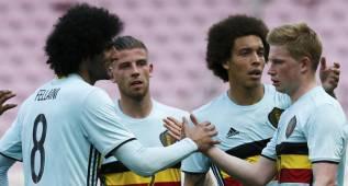 Una genialidad de De Bruyne dio la victoria a Bélgica
