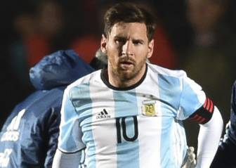 Lionel Messi se lesiona en el Argentina frente a Honduras