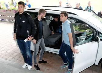 Iker, De Gea, Morata y los del Barça ya están en Austria