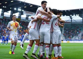 Las mejores imágenes del partido amistoso España-Bosnia