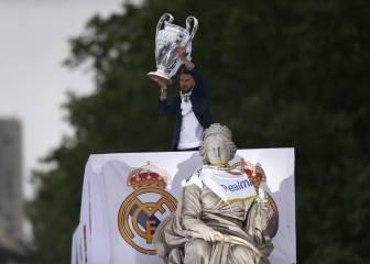 El Madrid brindó la Undécima a Cibeles de día y bajo la lluvia
