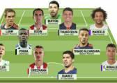 Suárez, Ronaldo y Griezmann, en el once ideal de L'Équipe