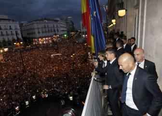 Cristiano, en la Puerta del Sol: