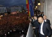 """Cristiano, en la Puerta del Sol: """"Así, así, así gana el Madrid"""""""