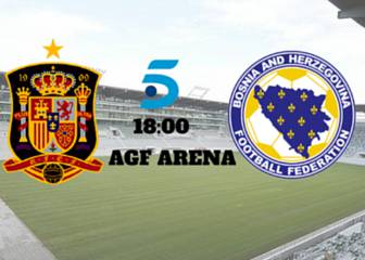 España vs Bosnia resultado, resumen y goles