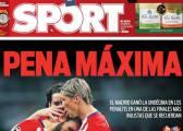 Pena Máxima, Messi y Neymar, en la prensa barcelonesa
