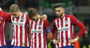 Carrasco tuvo dudas y prefirió ceder a Juanfran su penalti