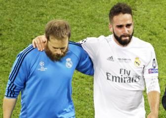 Hoy, pruebas a Carvajal para decidir si va a la Eurocopa