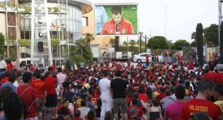 Barcelona tendrá pantalla gigante para ver a España