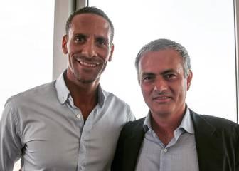 Mourinho quiere que Ferdinand sea su 'Karanka' en el United