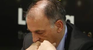 Tebas podría presidir LaLiga irregularmente, según Telecinco