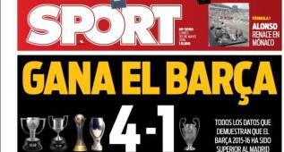 El Barcelona gana 4-1 al Madrid y Mata podría ser culé