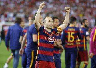 """Iniesta: """"Los del Madrid estarán decepcionados por no haber ganado la liga"""