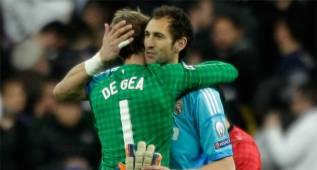 """Diego López: """"Creo que el titular en la Eurocopa debe ser De Gea"""""""