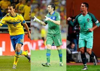 Estos son los capitanes de cada selección en la Eurocopa