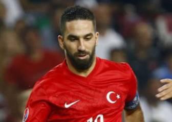 Arda Turan lidera la lista de Turquía, rival de España