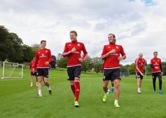 Bale y Ramsey, líderes en la lista de Gales para la Eurocopa