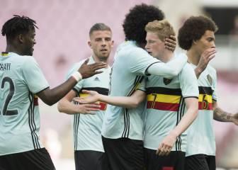 Bélgica confirma su lista con importantes bajas en defensa