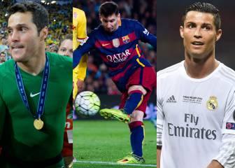 Ni Messi ni Cristiano: el mejor currículum es el de Julio César