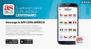 AS lanza la nueva App Copa América para seguir el torneo