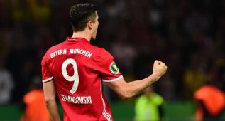 Lewandowski, el elegido por el Madrid para reforzar el ataque
