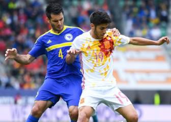 El Espanyol colgará el cuadro de su internacional 43: Asensio