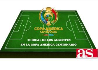 El once ideal de los ausentes en la Copa América Centenario