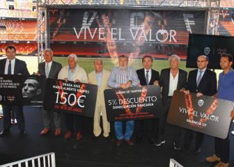 El Valencia rebaja los precios de los abonos un 5 por cien