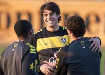 Kaká, baja en la Copa América por una lesión muscular