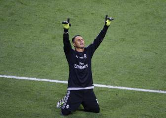 Zidane tendría la última palabra sobre Keylor Navas