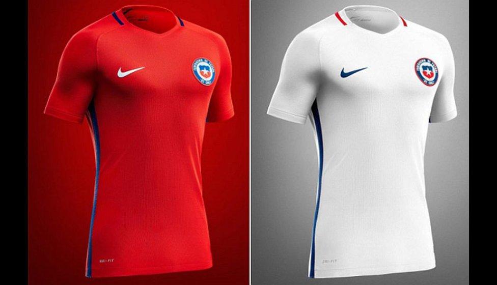 1db0416b27a19 Copa América 2016 Las camisetas de los equipos que jugarán la Copa América  2016 - AS.com